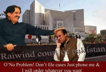 Chief Justice and Nawaz Sharif