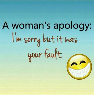 Women's Apology